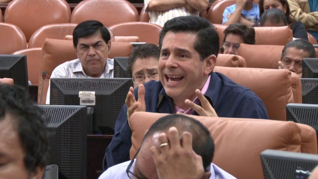 Diputado sandinista defiende Ley de Agentes Extranjeros y califica como «manada de delincuentes y sinvergüenzas» a opositores