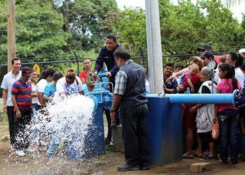 Gobierno privatizará el servicio de agua y saneamiento, según Ruth Selma Herrera. Foto: Tomada de medios oficialistas.
