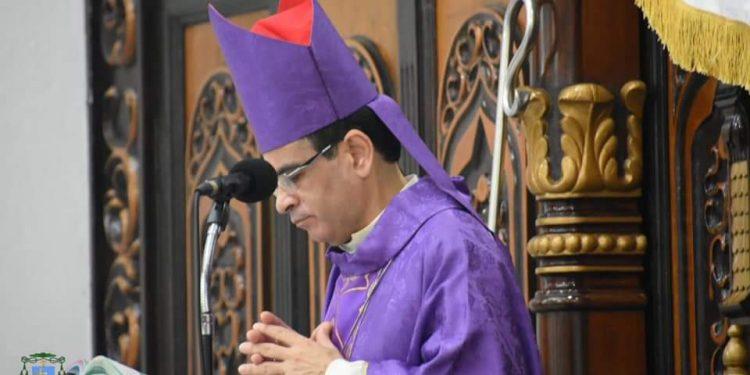 Monseñor Álvarez llamó construir un país institucional donde se superen las visiones «miopes». Foto: Diócesis de Matagalpa