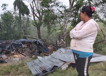 Exigen al régimen declare Estado de Desastre Nacional tras huracanes. Foto: Artículo 66/ Álvaro Navarro.