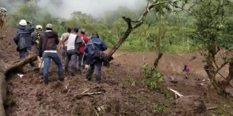 Tres personas más fallecieron en otro deslave, según anunció la vocera del régimen Rosario Murillo esta tarde. Foto: Internet.