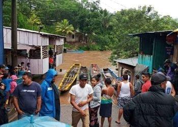 Régimen asedia centros de acopios que se disponen a recopilar ayuda para víctimas del huracán ETA. Foto: Sistema de Noticias del Caribe