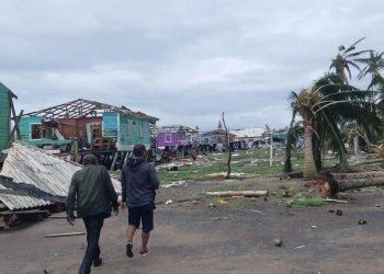 Coalición Nacional exige beligerancia a la dictadura de Ortega ante damnificados por el huracán ETA. Foto: Cortesía