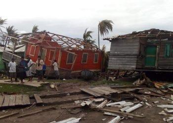 Ortega contabiliza más de 170 millones de dólares en daños por huracán Eta pero no reconoce muertos. Foto: Gilberto Artola.