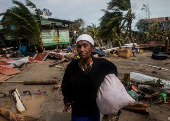 Iota ya tocó tierra en Nicaragua y es el huracán más poderoso de la historia en el país. Foto: DW