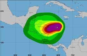 Caribe Norte y Triángulo Minero de Nicaragua, en alerta roja por huracán ETA