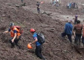 Siguen labores de búsqueda tras deslave en el Macizo de Peñas Blancas