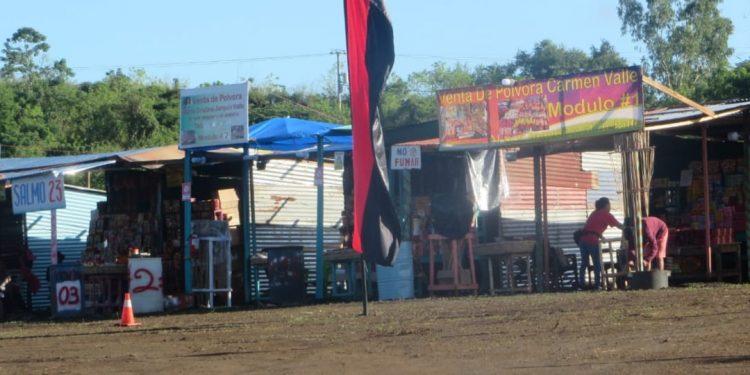 Venta de pólvora en Masaya gobernada por fanáticos orteguistas. Foto: Noel Miranda / Artículo 66