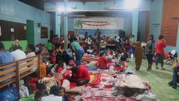 Colecta para ayudar a damnificados por ETA está siendo organizada por varias organizaciones. Foto: Euronews