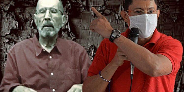 Miguel Rosales pide a Arnoldo Alemán que renuncie a la presidencia honoraria del PLC. Foto: Artículo 66