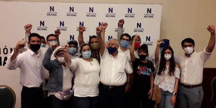 Coalición Nacional agrega a otra organización política para seguir haciéndole frente a Ortega. Foto: Artículo 66 / Cortesía