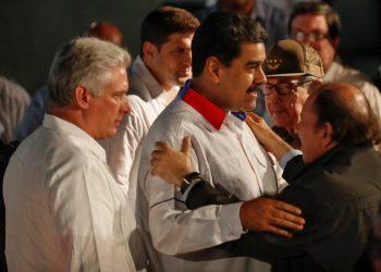 Daniel Ortega celebra su cumpleaños 75 con pocos amigos. Foto: Artículo 66/ EFE.