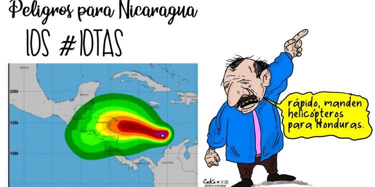 La Caricatura: Peligros para Nicaragua