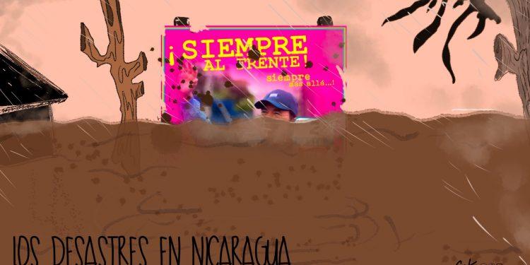 La Caricatura: Los desastres en Nicaragua