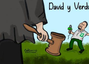 La Caricatura: David y Verdugo