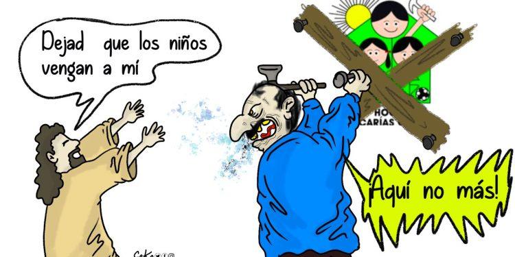 La Caricatura: ¡Aquí, no más!
