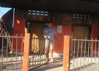 Exreo político Yubrank Suazo denuncia que fanáticos de la dictadura amenazan con robarle su casa. Noel Miranda / Artículo 66