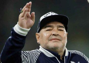 Mundo del fútbol consternado: Diego Maradona muere a los 60 años. Foto: Gentileza.