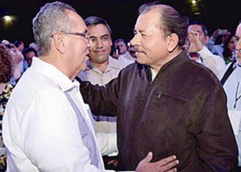 Arnoldo Alemán y Daniel Ortega