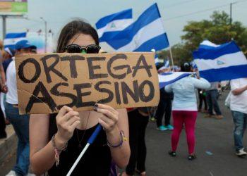 Dictadura Ortega-Murillo «pisotea» los derechos humanos de los nicaraguenses. Foto: Internet.