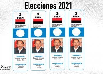 La Caricatura: El único candidato par 2021, mientras la oposición se divide