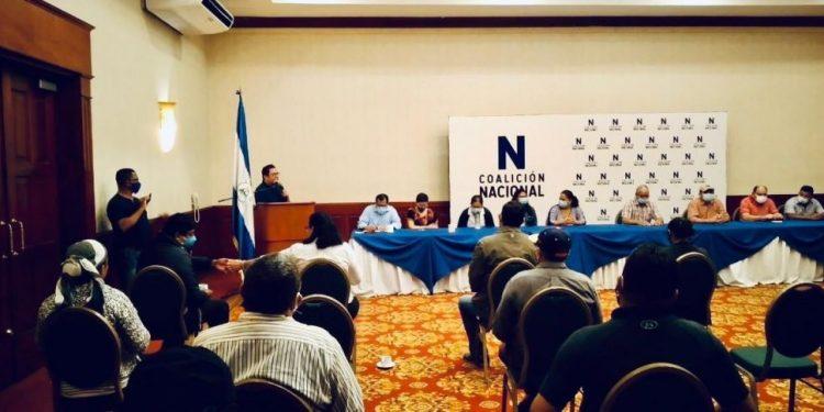 Coalición Nacional va a «elecciones internas» para seleccionar a sus líderes para enfrentar a Daniel Ortega. Foto: Artículo 66.