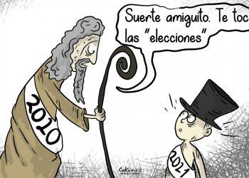 La Caricatura: Año electoral