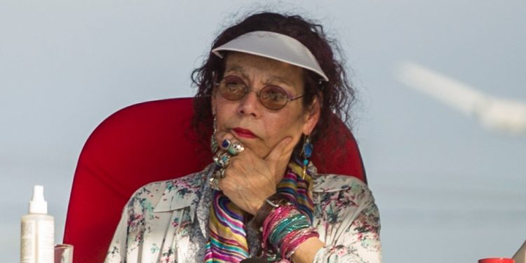 Rosario Murillo llama «asaltantes de la paz» a los opositores que dice «golpearon» la estabilidad de Nicaragua. Foto: Artículo 66 / EFE.