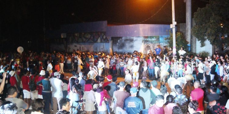 Alcaldía orteguista monta «show» callejero para recordar a Orlando Noguera. Foto: Alcaldía de Masaya