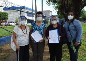 Movimiento de Mujeres interpone recurso por inconstitucionalidad contra Ley de Agentes Extranjeros. Foto: Cortesía.