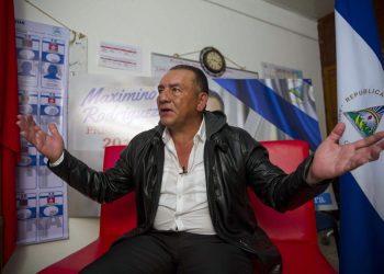 Maximino Rodríguez: «Estoy listo para que me destituyan». Foto: Artículo 66/ EFE.