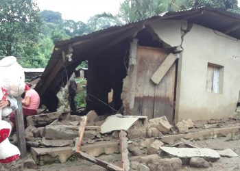 Afectados por los huracanes Eta e Iota de Murra, siguen olvidados por el Gobierno. Foto: Cortesía.