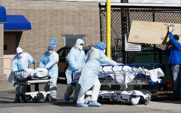 Estados Unidos alcanza un récord de muertes y hospitalizaciones diarias por covid-19, mientras en Nicaragua la vocera del régimen promueve aglomeraciones. Foto: EFE