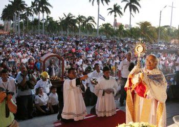 Iglesia Católica suspende la tradicional procesión del primero de enero por repunte de COVID-19. Foto: Internet.