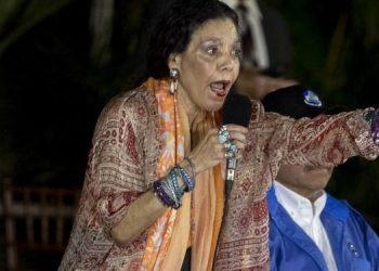Rosario Murillo se burla de disturbios en Estados Unidos y dice que fueron promovidos por Donald Trump. Foto: Artículo 66 / EFE