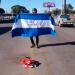 «¡Viva Nicaragua Libre!», el grito del opositor Sergio Beteta al ser declarado culpable. Foto: Captura de pantalla/ Artículo 66.
