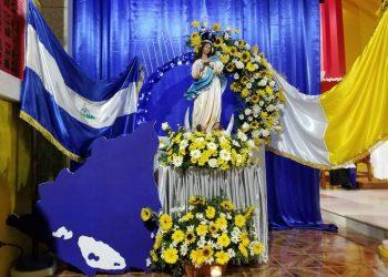 María, madre de los pueblos crucificados y resucitados. Fotografía/Cortesía: Diócesis de Matagalpa