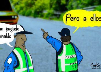 La Caricatura: Aumenta la ola de robos en diciembre