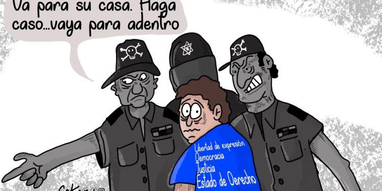 La Caricatura: Nicaragua por cárcel