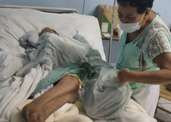 Exreo político Justo Rodriguez en condición de salud critica. Foto: Artículo 66 / Cortesía