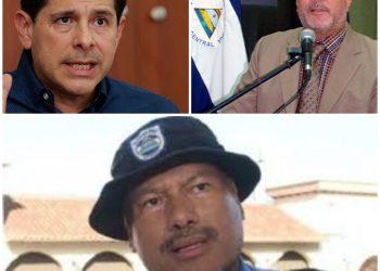 Wálmaro Gutiérrez, Fidel Domínguez y Marvin Aguilar, sancionados por apoyar mecanismos represivos de Ortega