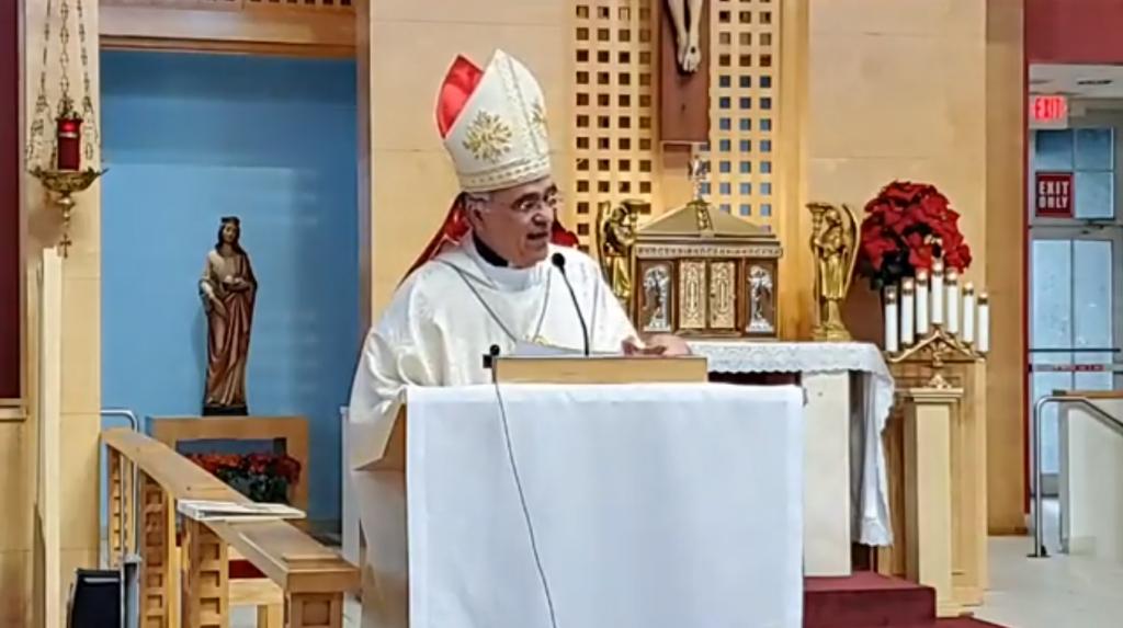 Mons. Silvio Báez: «En cada familia exiliada está la Sagrada Familia de Nazaret»