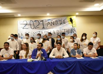 Alianza Universitaria Nicaragüense propone «reforma» electoral sin reforma. Foto: A. Navarro/Artículo 66