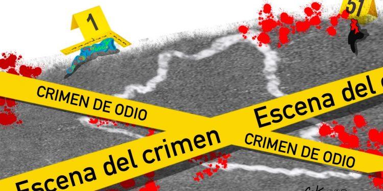 La Caricatura: Crimen de odio