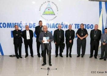 Coalición Nacional pedirá el «auxilio» de la Conferencia Episcopal para que medie entre bloques opositores y alcanzar la unidad. Foto: Redes sociales CEN