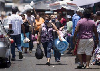 Minsa reporta menos casos de COVID-19 a la semana en Nicaragua. Foto: Artículo 66/ EFE.