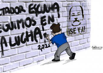 La caricatura: Resolución de Año Nuevo.