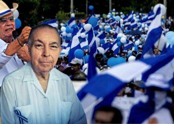 Nicaragüenses en Europa respaldan Comisión de Buena Voluntad de Tünnermann y Gadea.