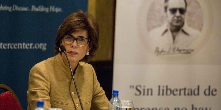 Cristiana Chamorro reta a Ortega y Murillo a un debate «frente al pueblo». Foto: Artículo 66/EFE