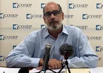 Cosep considera que no hay condiciones económicas para incremento del salario mínimo. Foto: Captura transmisión COSEP